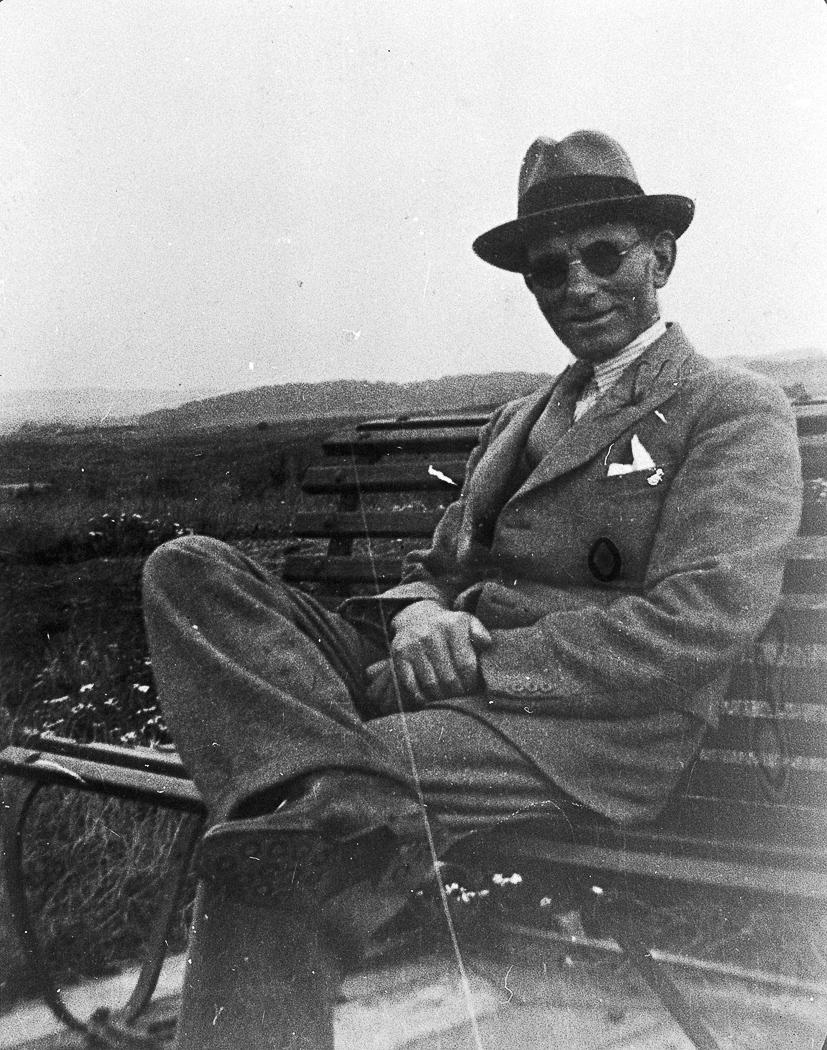 Portrait of Robert Robertson of Campbeltown.