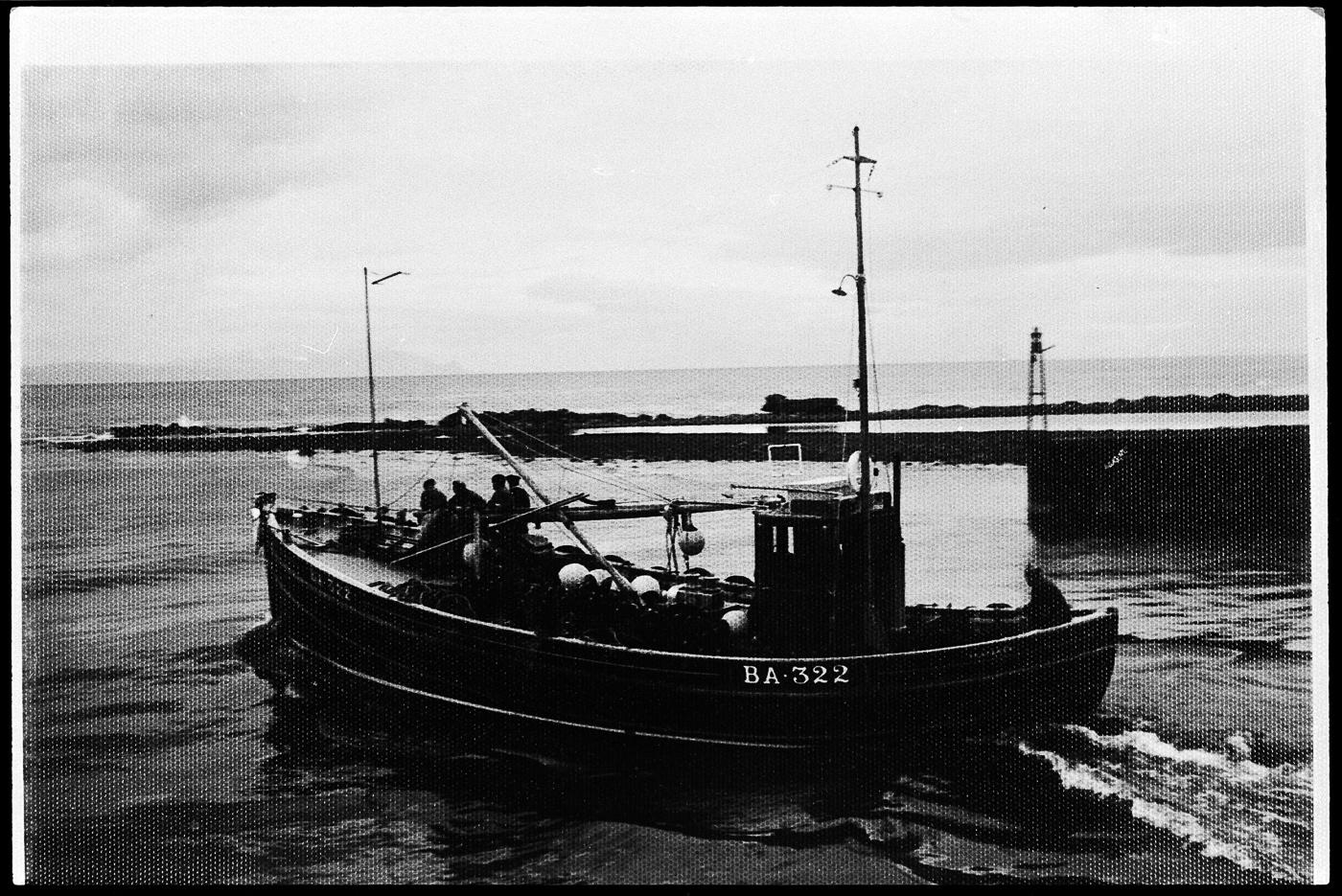 Ringnetter 'Seafarer', BA322, in harbour, Girvan.